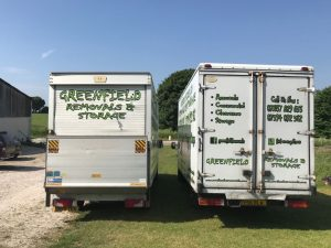 Greenfield Removals vans